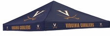 Virginia Cavaliers Navy Logo Tent Replacement Canopy