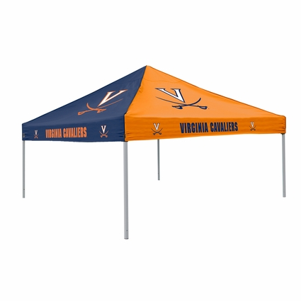 Virginia Cavaliers Navy / Orange Logo Canopy Tailgate Tent
