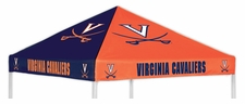Virginia Cavaliers Navy / Orange Logo Tent Replacement Canopy