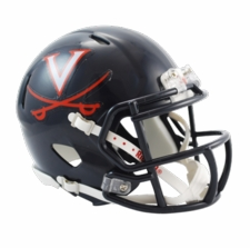 Virginia Cavaliers Riddell Speed Mini Helmet