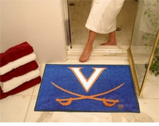 "Virginia Cavaliers Swords 34""x45"" All-Star Floor Mat"
