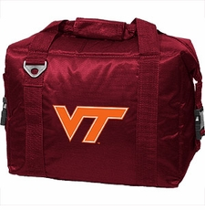 Virginia Tech Hokies 12 Pack Small Cooler