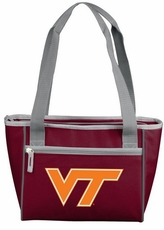Virginia Tech Hokies 16 Can Cooler Tote