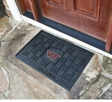Virginia Tech Hokies 19x30 Medallion Door Mat
