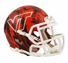 Virginia Tech Hokies 2013 Camo Riddell Speed Mini Helmet