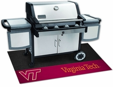 Virginia Tech Hokies 26x42 Grill Mat