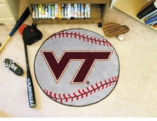 "Virginia Tech Hokies 27"" Baseball Floor Mat"