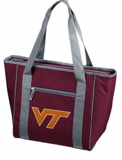 Virginia Tech Hokies 30 Can Cooler Tote