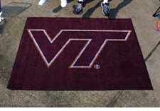 Virginia Tech Hokies 5'x6' Tailgater Floor Mat