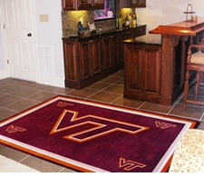 Virginia Tech Hokies 5'x8' Floor Rug
