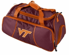 Virginia Tech Hokies Athletic Duffel Bag