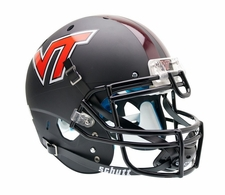 Virginia Tech Hokies Black Schutt XP Authentic Helmet