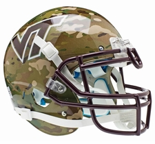 Virginia Tech Hokies Camo Schutt XP Authentic Helmet