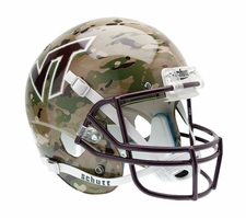 Virginia Tech Hokies Camo Schutt XP Full Size Replica Helmet