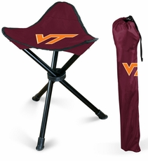 Virginia Tech Hokies Folding Stool