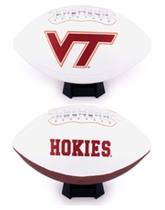 Virginia Tech Hokies Full Size Signature Embroidered Football