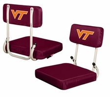 Virginia Tech Hokies Hard Back Stadium Seat