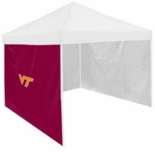 Virginia Tech Hokies Maroon Side Panel for Logo Tents