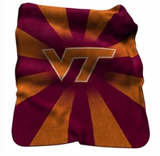 Virginia Tech Hokies Raschel Throw
