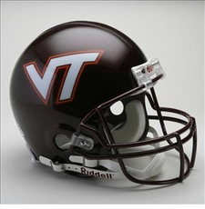 Virginia Tech Hokies Riddell Pro Line Authentic Helmet