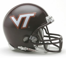 Virginia Tech Hokies Riddell Replica Mini Helmet