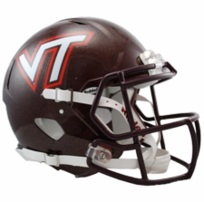 Virginia Tech Hokies Riddell Revolution Speed Authentic Helmet