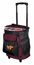 Virginia Tech Hokies Rolling Cooler