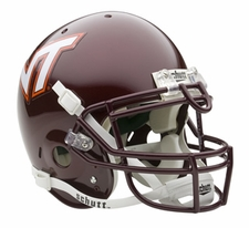 Virginia Tech Hokies Schutt Authentic Full Size Helmet
