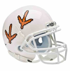 Virginia Tech Hokies Tracks Schutt Authentic Mini Helmet
