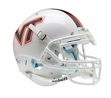 Virginia Tech Hokies White Schutt XP Authentic Helmet