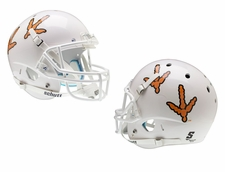 Virginia Tech Hokies White Tracks Schutt XP Full Size Replica Helmet