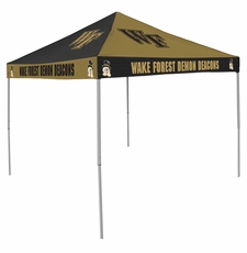 Wake Forest Demon Deacons Checkerboard Logo Canopy Tailgate Tent