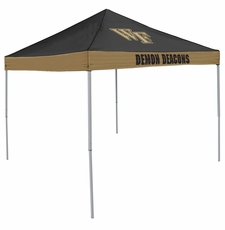 Wake Forest Demon Deacons Economy 2-Logo Logo Canopy Tailgate Tent