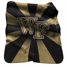 Wake Forest Demon Deacons Raschel Throw