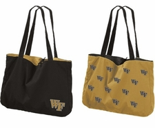 Wake Forest Demon Deacons Reversible Tote Bag