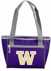Washington Huskies 16 Can Cooler Tote