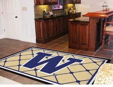 Washington Huskies 4'x6' Floor Rug