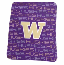 Washington Huskies Classic Fleece Blanket