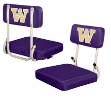 Washington Huskies Hard Back Stadium Seat