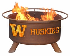 Washington Huskies Outdoor Fire Pit