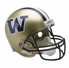 Washington Huskies Riddell Deluxe Replica Helmet