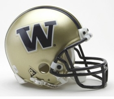 Washington Huskies Riddell Replica Mini Helmet:  Only made in Speed now
