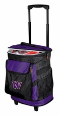 Washington Huskies Rolling Cooler