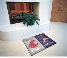 Washington Huskies - Washington State Cougars House Divided Floor Mat
