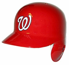 Washington Nationals Left Flap Rawlings Authentic Batting Helmet