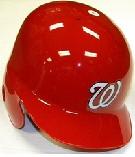 Washington Nationals Right Flap Rawlings Authentic Batting Helmet