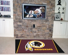 Washington Redskins 4'x6' Floor Rug