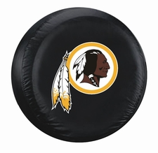 Washington Redskins Black Large Spare Tire Cover