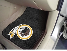 Washington Redskins Car Mats 2 Piece Front Set