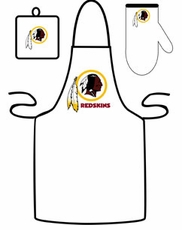 Washington Redskins Cooking / Grilling Apron Set